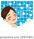 Bathing Woman Relaxing 20835861
