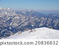 ฤดูหนาว,ม้าขาว,ภูเขาหิมะ 20836632