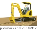 heavy machinery, person, men 20836917