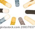 貓爪 黑貓 皮毛有三種顏色的貓 20837037