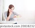 woman use smart watch 20838232