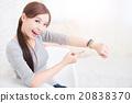 woman use smart watch 20838370