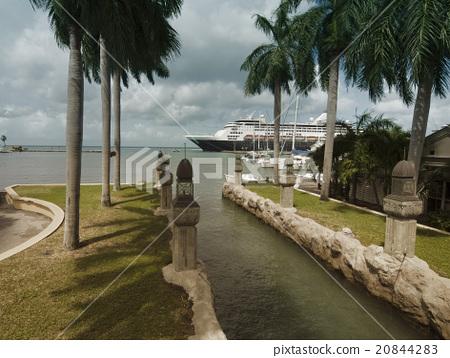 Harbor from Oranjestad, Aruba, Caribbean Islands 20844283