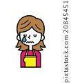 哭泣 哭 眼淚 20845451