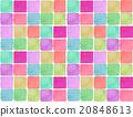 Background material Girly feminine tile pattern handwriting hand-drawn background illustration cute fashionable fashionable 20848613