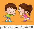 children talk and listening 20849298