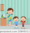 family kitchen be happy 20849311