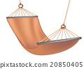 hammock on white 20850405