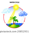 water cycle 20852931