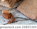 Spiced Biscuits, Cinnamon And Star Anise 20855304