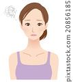 女士40年代的美容護膚品 20856185