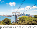 Funiculars above Taronga Zoo 20859125