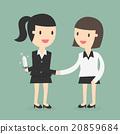 business partners handshaking  20859684
