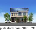 房屋 房子 住宅的 20860791