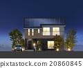 房屋 房子 住宅的 20860845