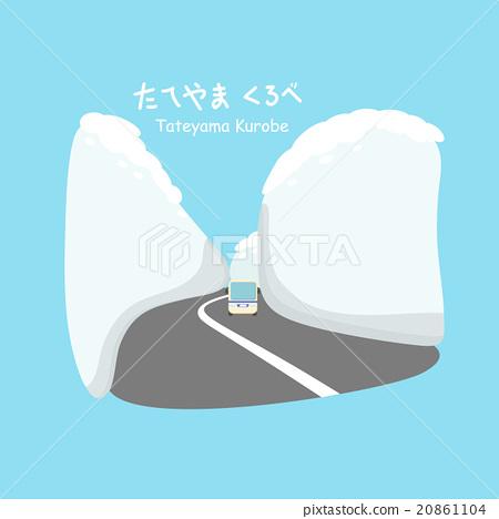 Snow wall at Tateyama Kurobe 20861104