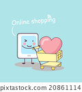 online shopping concept 20861114