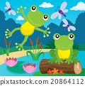 Frog thematic image 1 20864112