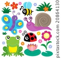 Spring animals and insect theme set 1 20864130