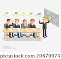 Seminar presentation conceptual. Business meeting  20870074