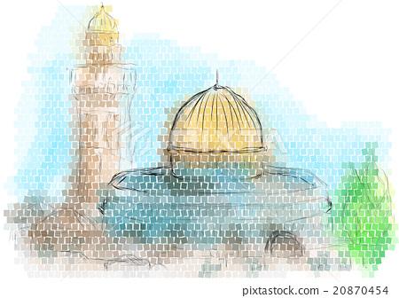 jerusalem 20870454