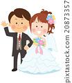 婚禮 結婚 結婚了的 20873357