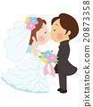 婚禮 結婚 結婚了的 20873358
