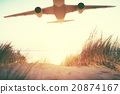 飞机 旅行 户外 20874167
