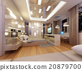 3d rendering design of interior bedroom 20879700