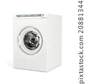 White washing machine 20881344