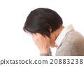 頭疼 阻礙 按下 20883238