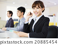 business woman with her staff in conference room 20885454