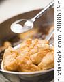 油炸食品 碟 烹調的 20886196