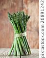 หน่อไม้ฝรั่ง,สีเขียว,เขียว 20891242