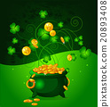Pot of Gold Coins 20893408