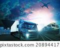 industries truck,trains,ship ,air cargo freigh 20894417