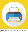 computer printer flat icon 20895423