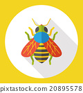 insect bug flat icon 20895578