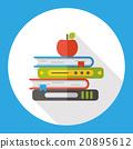 school book flat icon 20895612