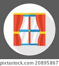 furniture window flat icon 20895867