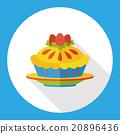 pie flat icon 20896436