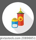 sauce bottle flat icon 20896651