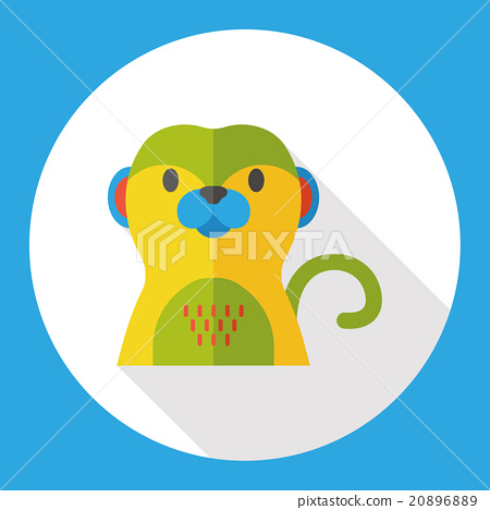 zoo animal flat icon 20896889