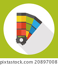color card flat icon 20897008