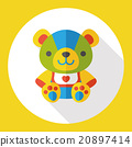 animal bear flat icon 20897414