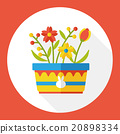 flower flat icon 20898334