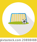 sport soccer flat icon 20898488