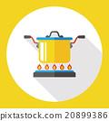 restaurant soup flat icon 20899386