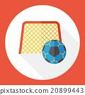 sport soccer flat icon 20899443