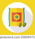 plant seed flat icon 20899473